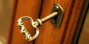 Turning-the-Key-In-the-Door